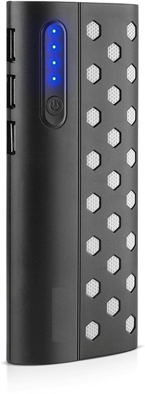 Hobins 20000 Power Bank (new dotted, high speed)(Black, Lithium-ion)