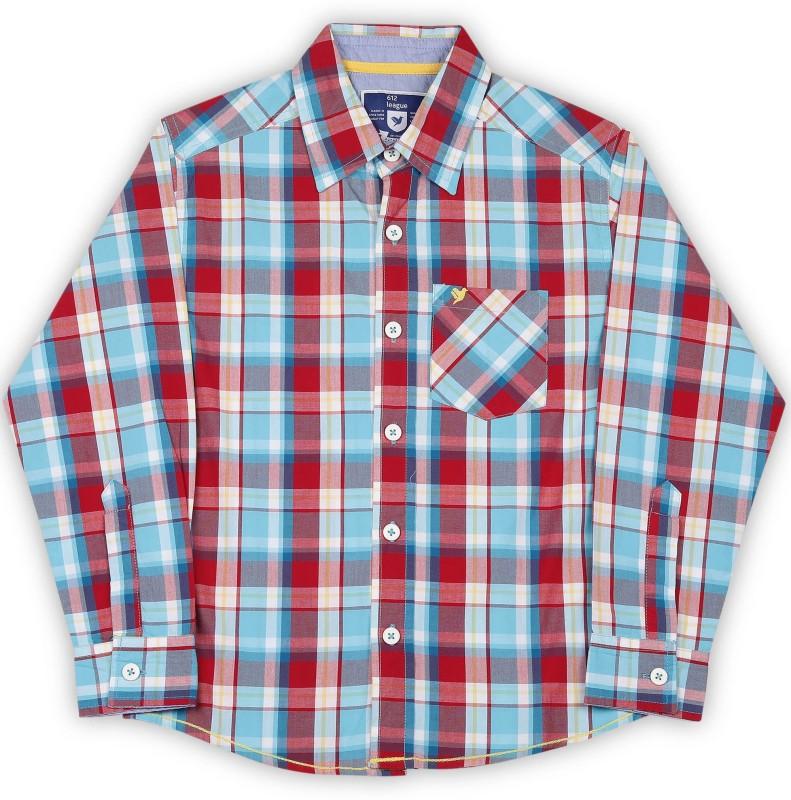 612 League Boys Solid Casual Shirt