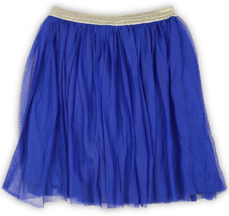 612 League Solid Girls Regular Blue Skirt
