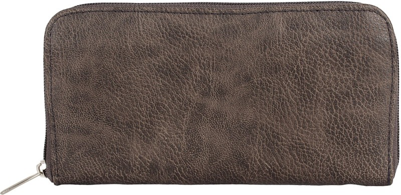 Anekaant Women Casual Brown Artificial Leather Wallet(6 Card Slots)