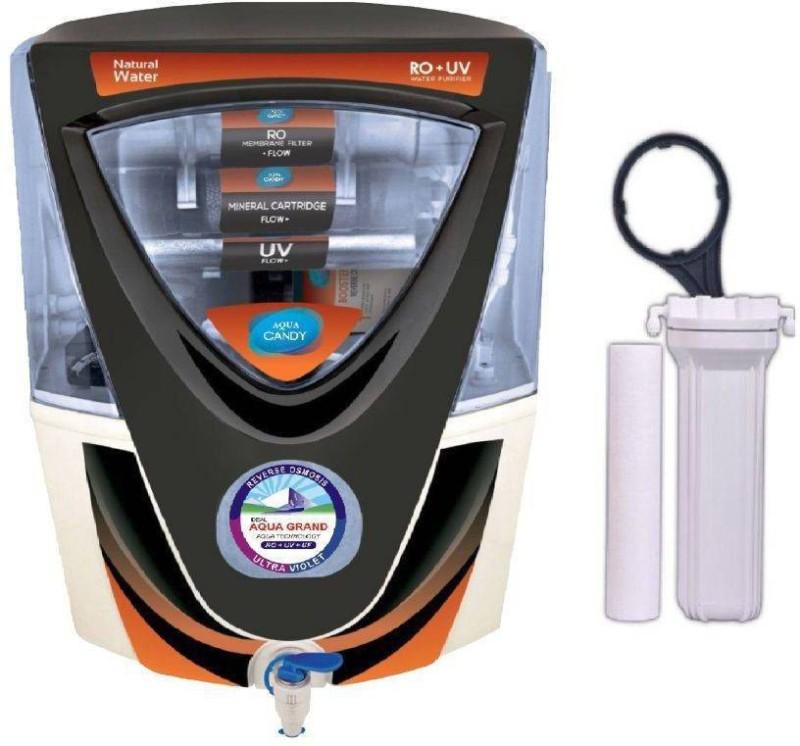 e26125b05 Aquagrand AQUA CANDY K RO UV UF TDS WITH 14 STAGE 15 L RO + UV + UF + TDS  Water Purifier(Multicolor)