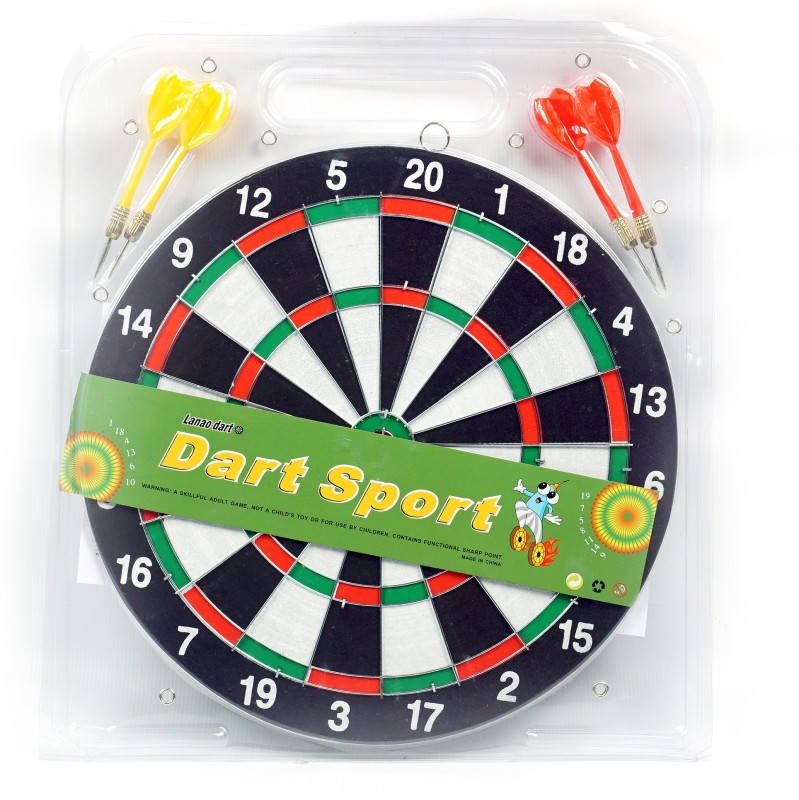 Acorn® Acorn Dart Board (Imported)- Top Quality (Reasonable Rate) 10 cm Dart Board(Multicolor)