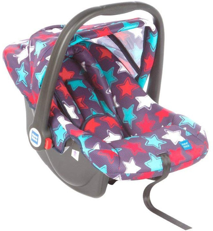 MeeMee Baby Car Seat Cum Carry Cot with Thick Cushioned Seat Baby Car Seats Car Seat(Navy Blue)
