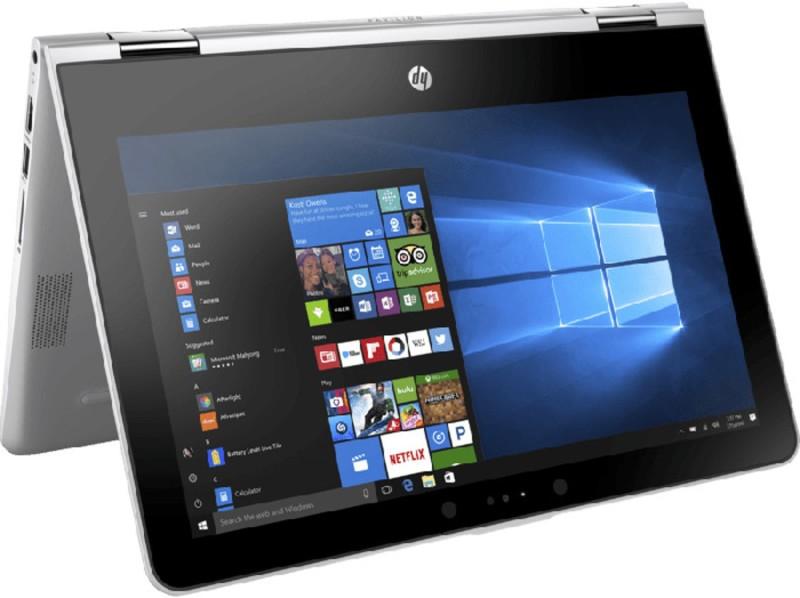 HP Pavilion x360 Pentium Quad Core - (4 GB/1 TB HDD/Windows 10 Home) 11-ad105tu 2 in 1 Laptop(11.6 inch, Natural Silver, 1.39 kg)