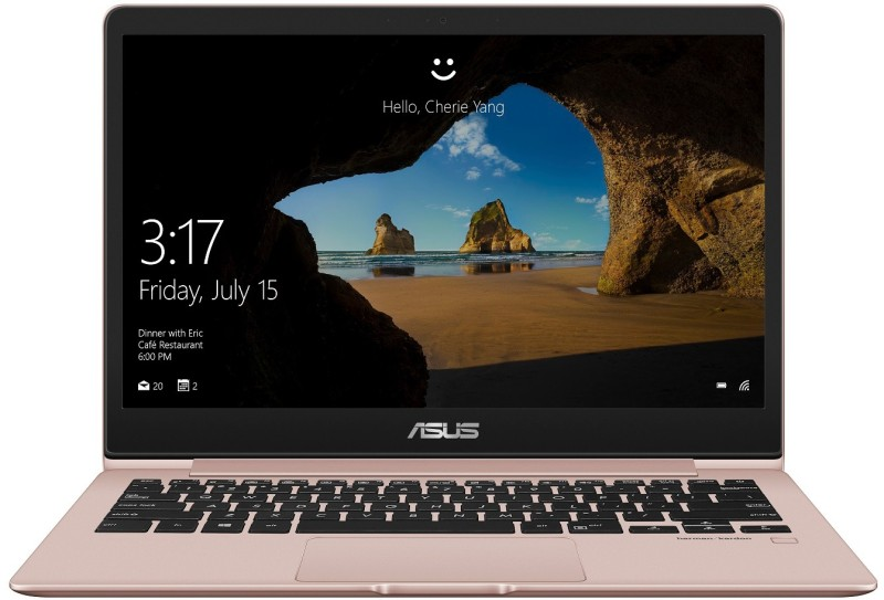 Asus ZenBook 13 Core i5 8th Gen - (8 GB/256 GB SSD/Windows 10 Home) UX331UAL-EG001T Thin and Light Laptop(13.3 inch, Rose Gold, 0.98 kg)