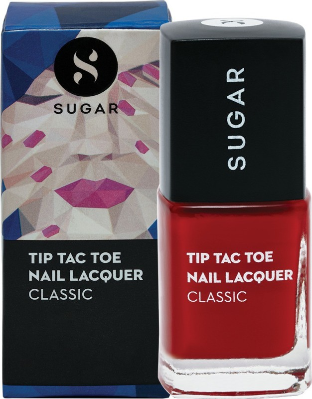 Sugar Tip Tac Toe Nail Lacquer 055 Brick by Brick (Yellow Red)
