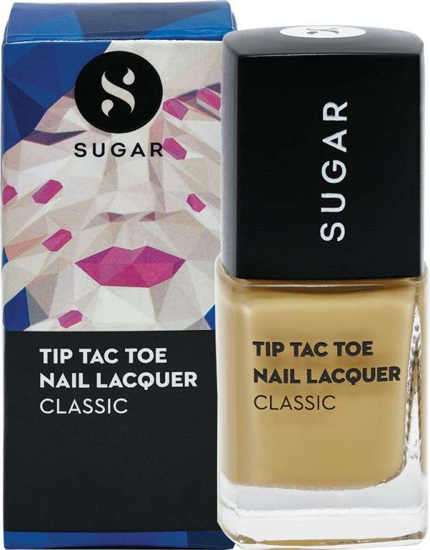 Sugar Tip Tac Toe Nail Lacquer 066 Sunny Side Up (Pastel Yellow)