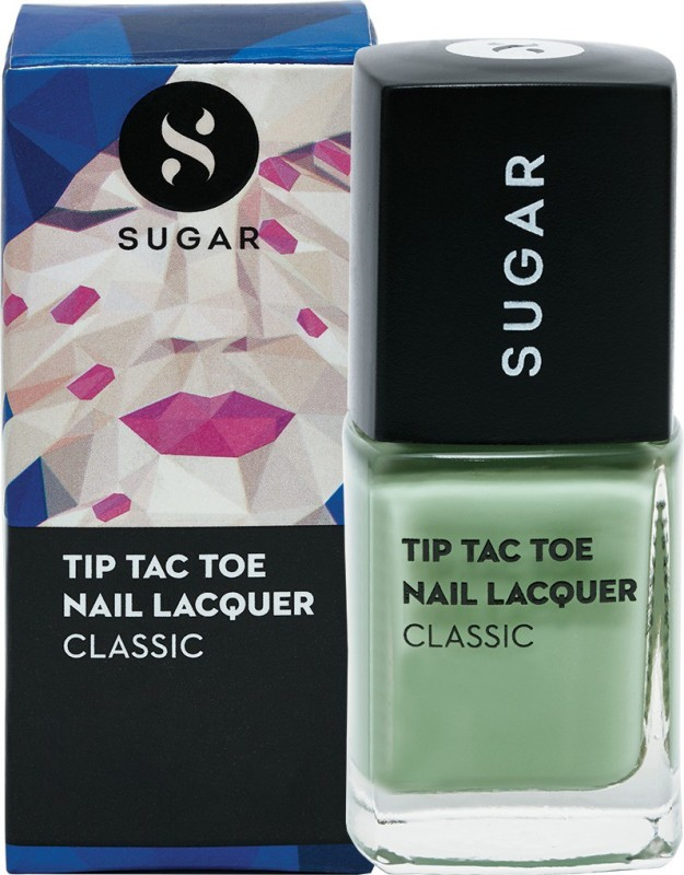 Sugar Tip Tac Toe Nail Lacquer 063 Mint Money (Pastel Green)