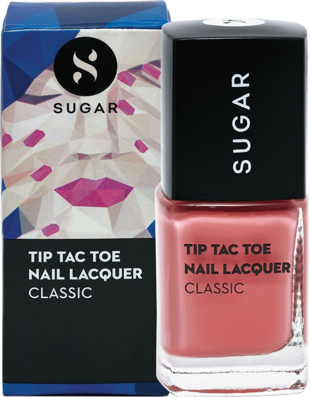 Sugar Tip Tac Toe Nail Lacquer 062 Peacher Perfect (Pastel Peach Pink)