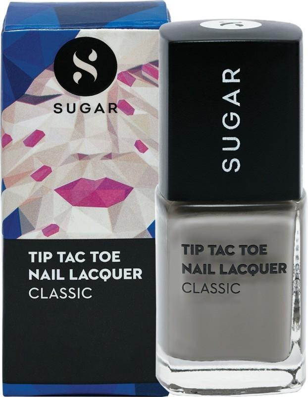 Sugar Tip Tac Toe Nail Lacquer 069 Graduation Grey (Pastel Grey)