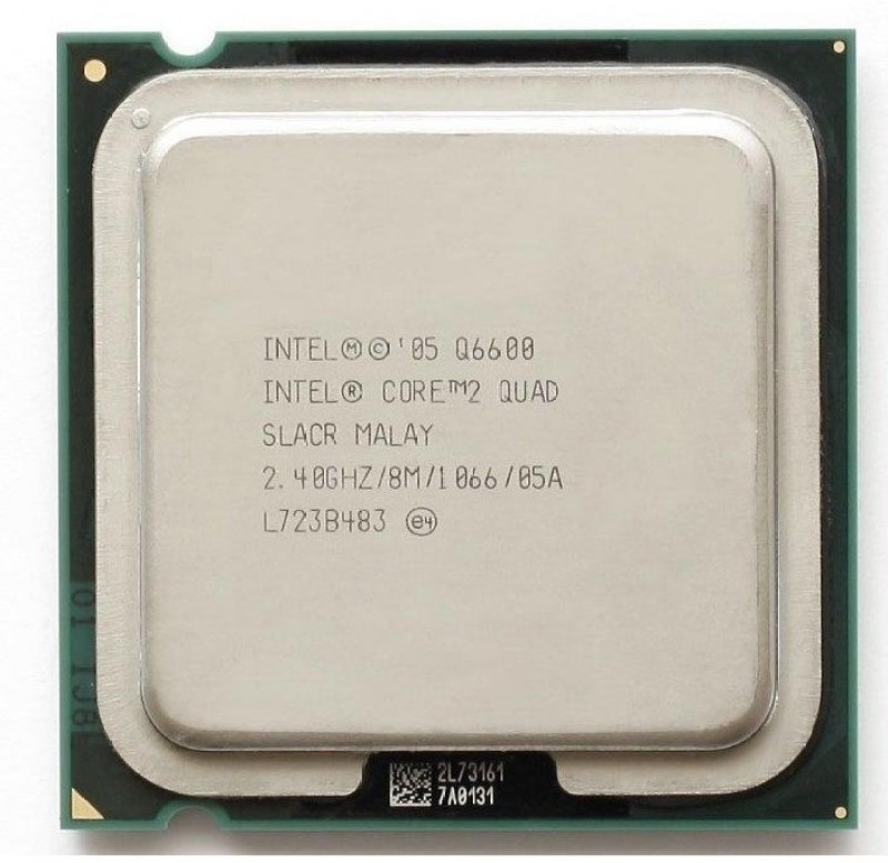 Intel 1066 LGA 775 core 2 quad refurbished original processor Processor(Multicolor)