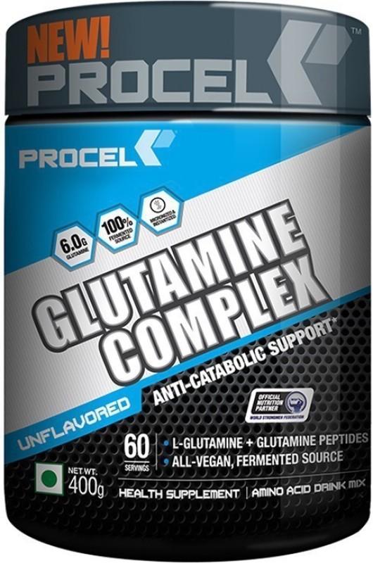 PROCEL GLUTAMINE COMPLEX 60 serving - Glutamine(400 g, Unflavored)
