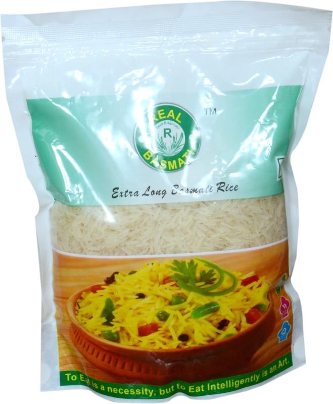 Real Basmati Long Grain White Rice (Pack of 10) Long Grain Rice (Long Grain)(10 kg)