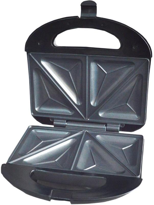 WISTEC 750W Super Jumbo Grill Sandwich Maker Toast(Silver)