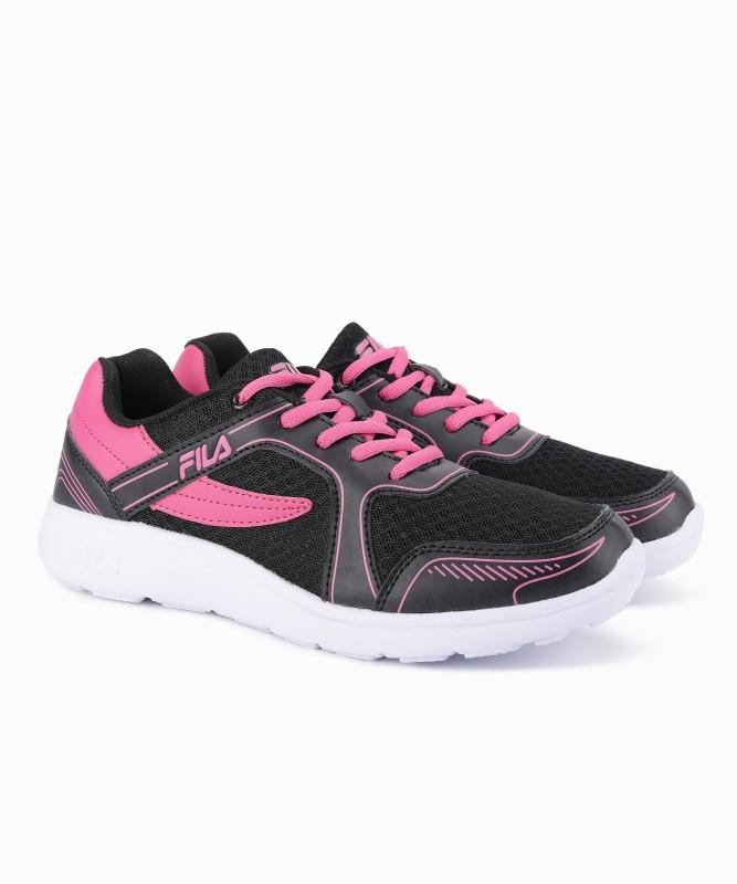 Fila JIANNA Running Shoes For Women(Black, Pink)