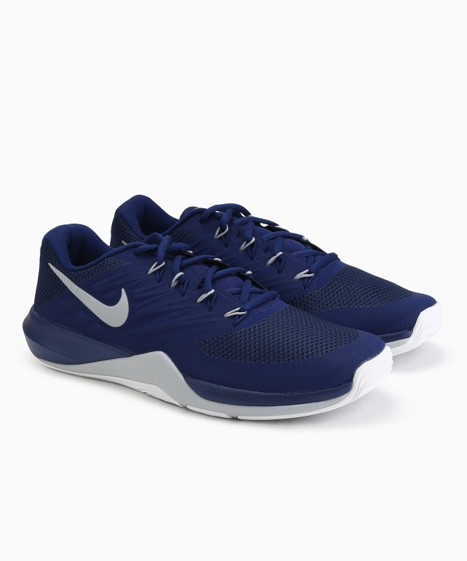 Nike LUNAR PRIME IRON II Training & Gym Shoes For Men(Blue)