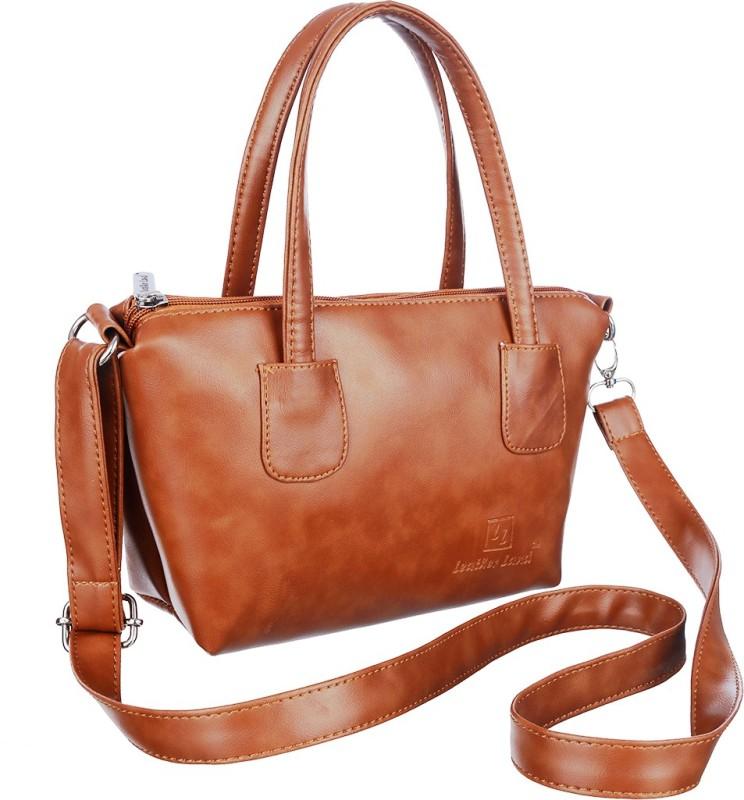 Leather Land Tan Sling Bag