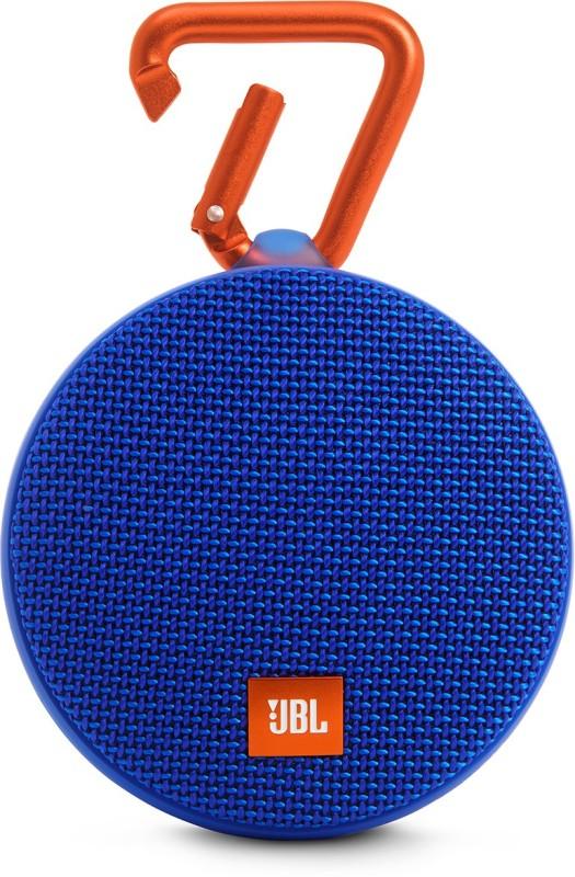 JBL CLIP 2 3 W Portable Bluetooth Speaker(Blue, 2.1 Channel)