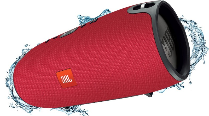 JBL Xtreme Red Portable Bluetooth Speaker(Red, Stereo Channel)