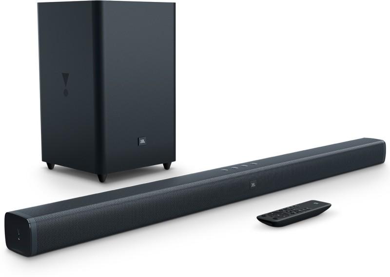 JBL BAR21 Wireless Bluetooth Soundbar(Black, 2.1 Channel)