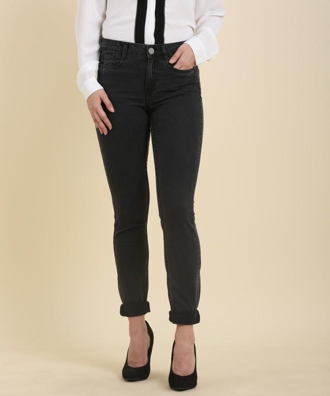 Van Heusen Mariia Slim Womens Black Jeans