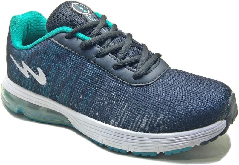 Campus Men Black Blue Running Shoes For Men(Black, Blue)