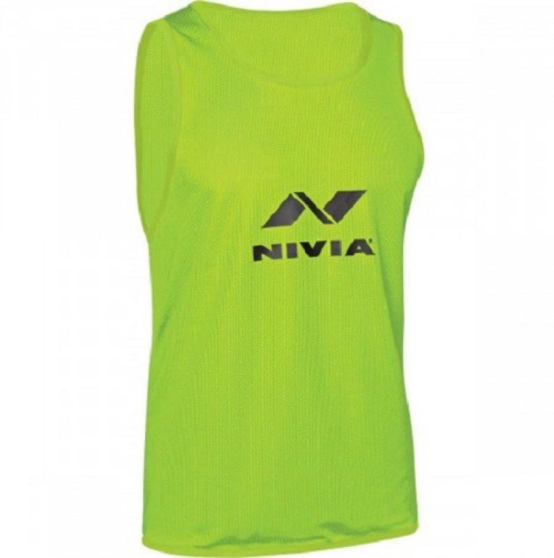 Nivia 1 Sport Bibs(Fluorescent Green)