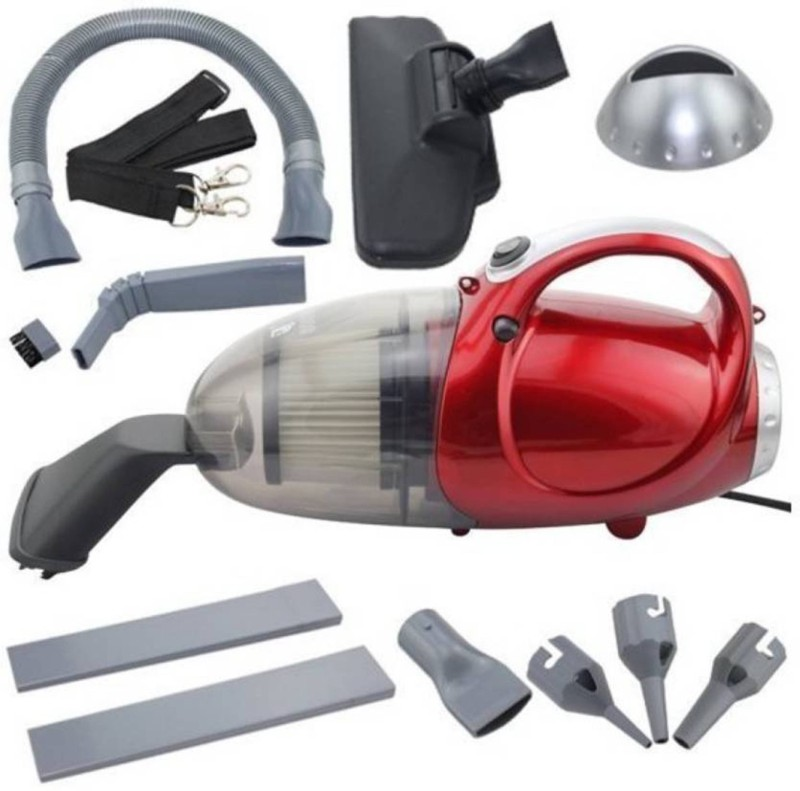 JM SELLER Blowing and Sucking Dual Purpose(JK-8) Home & Car Washer (Red) Dry Hand-held Vacuum Cleaner(Red)