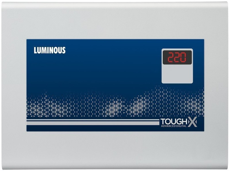 Luminous ToughX TA130D2 Voltage Digital Stabilizer for 2 Ton AC (130V-280V)(Grey)