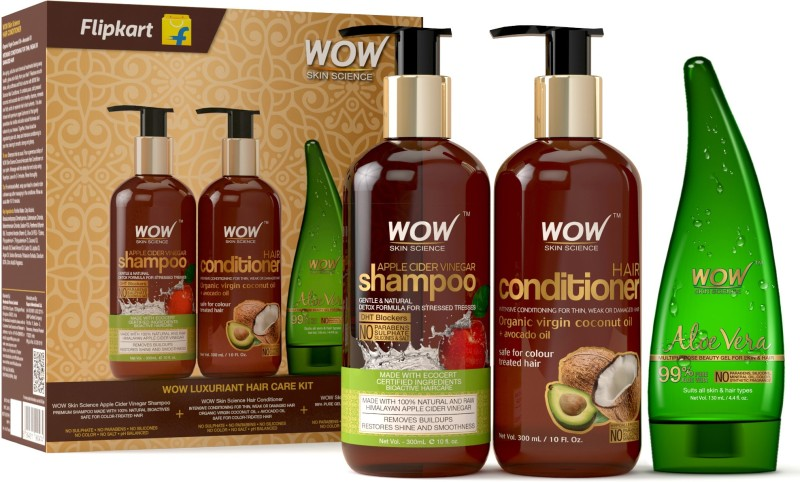 Wow Skin Science Luxuriant Hair Care Kit(3 Items in the set)