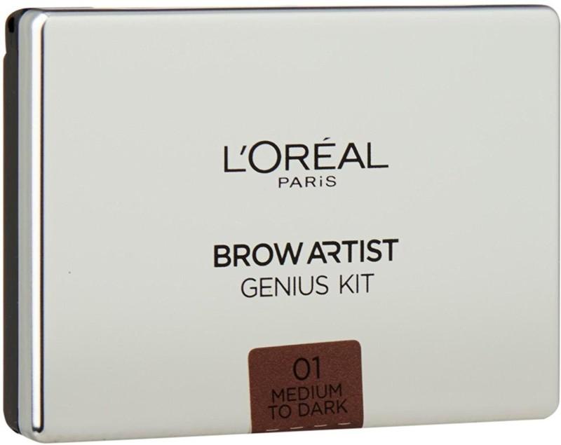 L'Oreal Paris Paris Brow Artist Genius Kit Light to Medium, 3.5g Compact(Light to Medium, 3.5 g)