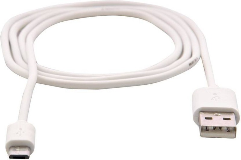 EWELL Micro Data Sync & Charging USB Cable (White) Reversible Micro USB(All Smartphones, Tablets and MP3 player, White)