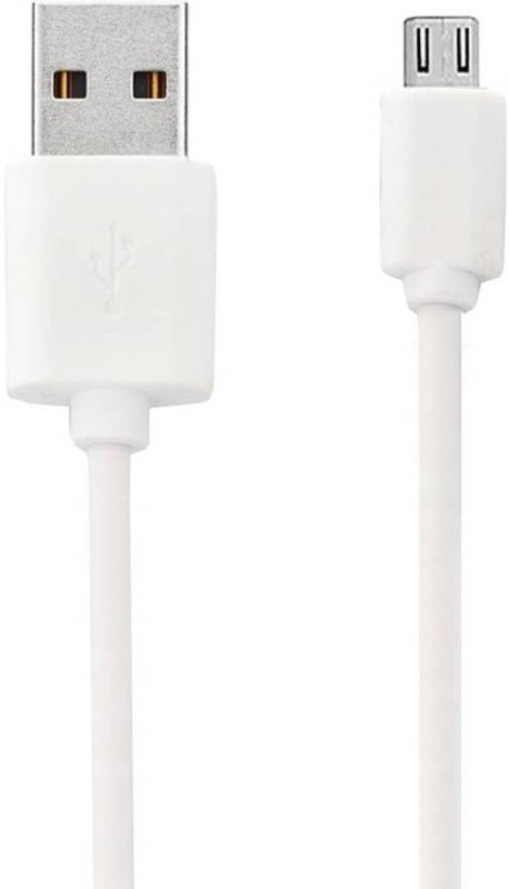 EWELL USB High speed data transfer and Charging Cable Reversible Micro USB(Mobile, Tablet, White)