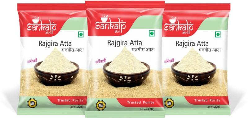 sankalpshri Rajgira Atta (Amaranth Flour Pack of 3)(200 g, Pack of 3)