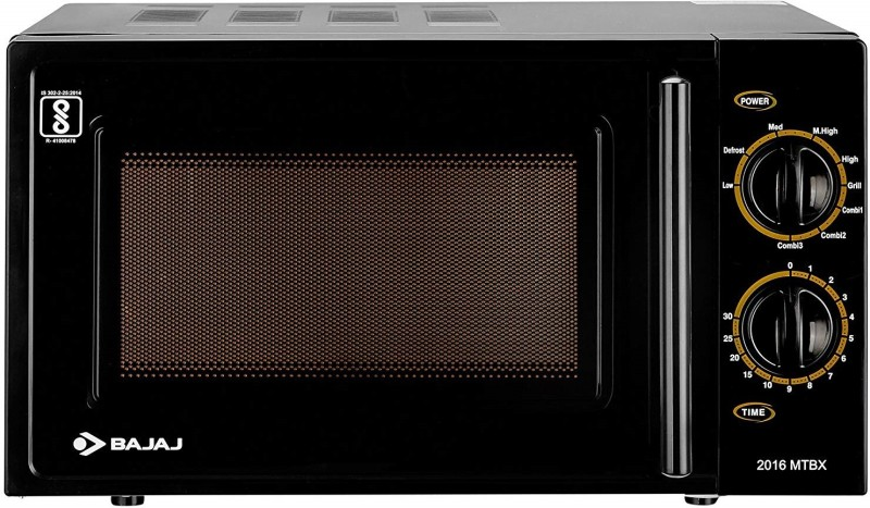 Bajaj 20 L Grill Microwave Oven(MTBX 2016, Black)
