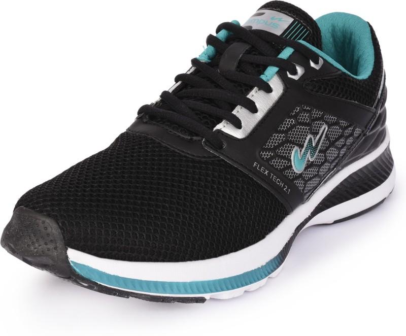 Campus Running Shoes For Men(Black, Blue)