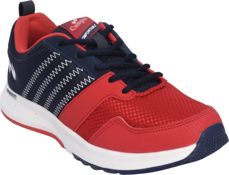 Campus MARSHAL Running Shoes For Men(Blue, Red)
