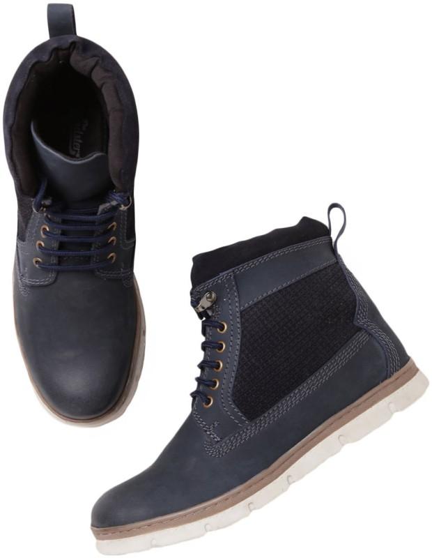 Roadster Boots For Men(Blue)