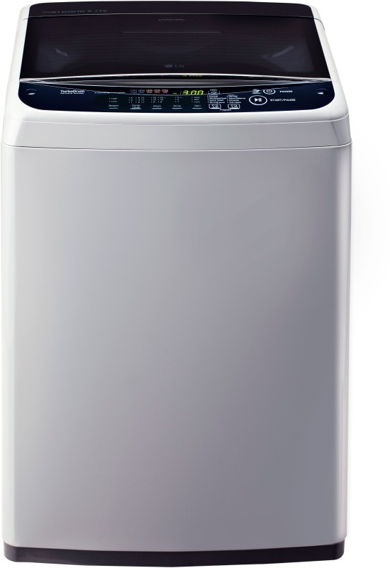LG 6.2 kg Fully Automatic Top Load Washing Machine Silver, Blue(T7288NDDLGD)