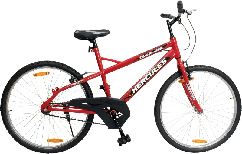 HERCULES Trailblazer RF 26 T Mountain Cycle(Single Speed, Red)