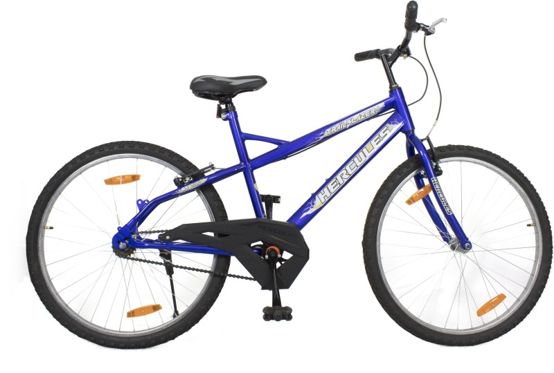 HERCULES Trailblazer RF 26 T Mountain Cycle(Single Speed, Blue)