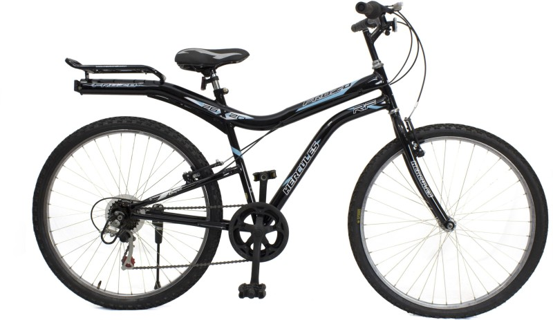 HERCULES Frozo RF 6s 26 T Mountain Cycle(6 Gear, Black)