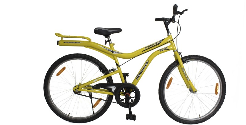 HERCULES Frozo RF 26 T Mountain Cycle(Single Speed, Yellow)