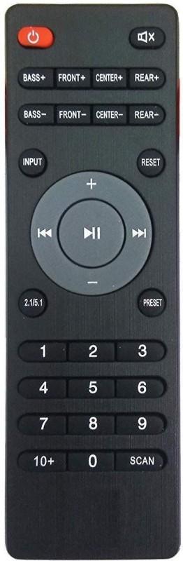 LipiWorld IBall Home Theater System Remote Control Compatible for IBall Home Theater Remote Controller(Black)