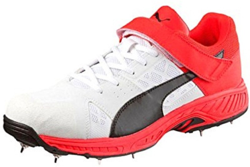 Puma Cricket Shoes For Men(Red)