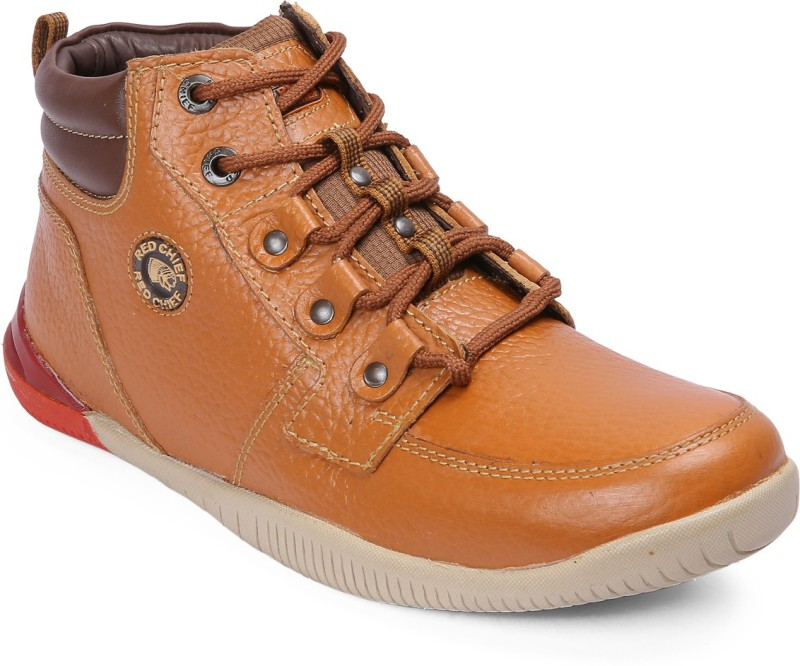 Red Chief RC5043 107 Boots For Men(Tan, Brown)