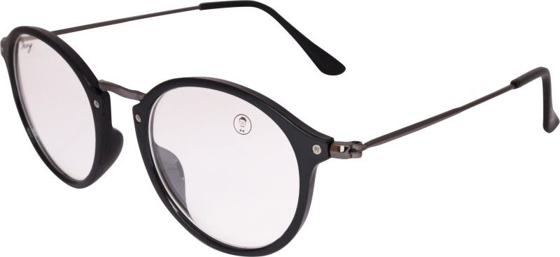 Foxy Round Sunglasses(Clear) image