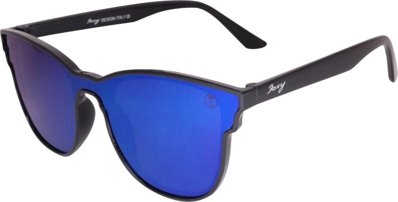 Foxy Wayfarer Sunglasses(Blue) image