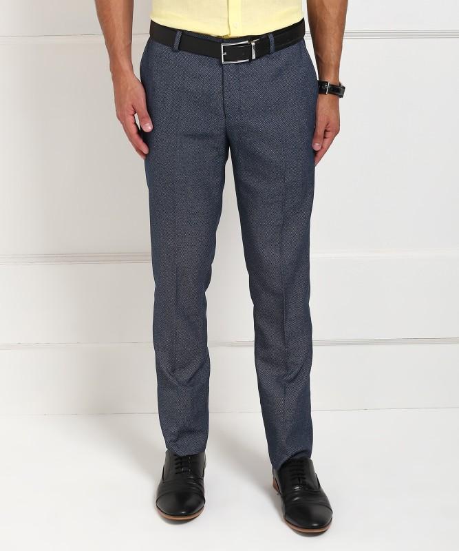 Blackberrys Skinny Fit Men's Blue Trousers