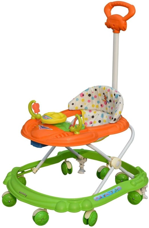 Sunbaby Musical Activity Walker With Parent Rod(Green)
